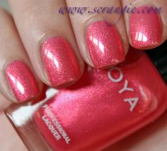 Scrangie: Zoya Blogger Collection by Birchbox Spring/Summer 2012 Swatches and Review