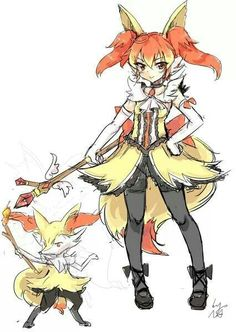 #anime pokemon gijinka