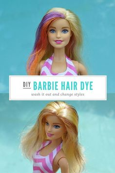 Barbie Hairstyles Fascinating How To Crimp Barbie Doll Hair  Diy Barbie Hairstyles Tutorial