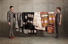 LOVE THESE BLANKETS! The Portland Collection Fall 2012 from Pendleton.