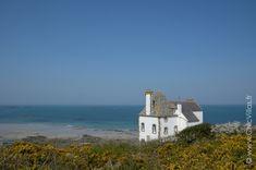 En Bretagne, location villa de charme en bord de mer