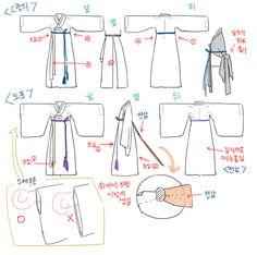 오늘의유머 - 한복과 갓 그리기! Korean Hanbok, Korean Dress, Korean Outfits, Korean Traditional Dress, Traditional Fashion, Traditional Dresses, Anime Outfits, Chinese Clothing, Oriental Fashion