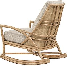 mcguire furniture petal rocking chair a 116 mcguire furniture company la 14 jolie
