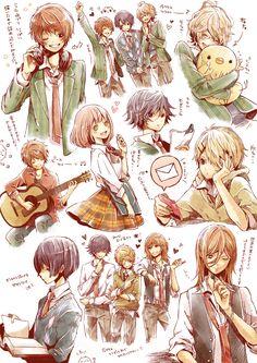 Tags: Sketch, Pixiv, Nanami Haruka, Uta no☆prince-sama♪, Jinguji Ren, Shinomiya Natsuki, Kurusu Shou, Ichinose Tokiya, Hijirikawa Masato, It...