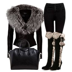 18 Popular Outfit Polyvore Creations ‹ ALL FOR FASHION DESIGN  Love the boots