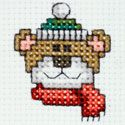 Christmas Bear Christmas cross stitch Chart