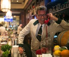 An Old-Fashioned Bartender Known for His Pour and His Personality - The New York Times Modelo Beer, New York City Travel, Cool Bars, Ny Times, Bartender, Restaurant Bar, Personality, Nyc, Restaurants