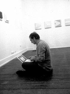 Poesie einer Ausstellung im ausstellungsraum EULENGASSE - Vorbereitung