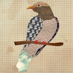 The Monster Blog: Bird Collages