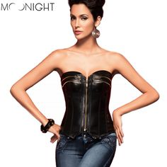 Here is a sneak peak at what's new and fresh at Costbuys today Style Espartilho ... see for yourself and don't ever doubt again http://www.costbuys.com/products/style-espartilho-corselets-zipper-synthetic-leather-overbust-corset-tight-lacing-steampunk-european-and-american-models?utm_campaign=social_autopilot&utm_source=pin&utm_medium=pin