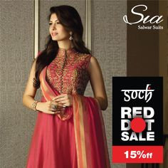 #SochStyle #RedDotSale A festive outfit that will make you stand out #Soch