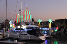 Balboa Bay Christmas Lights Newport Beach Boat Parade December 2017 Harbor