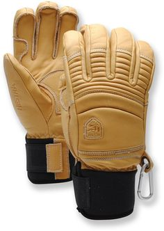 Hestra Fall Line Gloves. Size 10 Fjall Raven Uptown, REI or Hoigaards (with discount) Snowboarding Gear, Ski Gear, Hiking Gear, Cowhide Leather, Leather Men, Bike Shoes, Mens Fall, Sports Sunglasses, Mitten Gloves