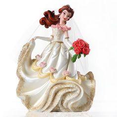 Figurine Belle - en Robe de Mariée - Haute Couture
