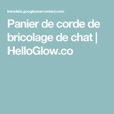 Panier de corde de bricolage de chat | HelloGlow.co