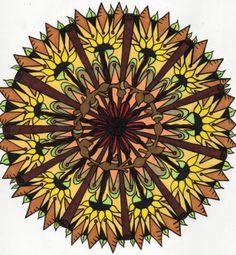 Twysted Thystle Autumn Mandala