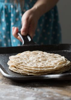 Paleo Cassava Flour Tortillas (Grain free, Gluten free, Egg free, Coconut free, Nut Free)