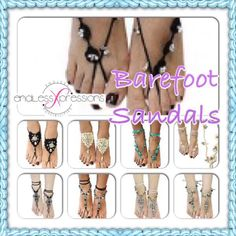 Barefoot Sandals! These are super cute:) Order yours here: www.endlessxpressions.com/#YancieBeeson