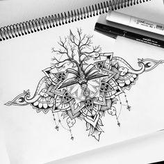 Ideas for tattoo mandala lotus namaste Nature Tattoos, Life Tattoos, Body Art Tattoos, Small Tattoos, Sleeve Tattoos, Cool Tattoos, Family Tattoos, Print Tattoos, Tatoos