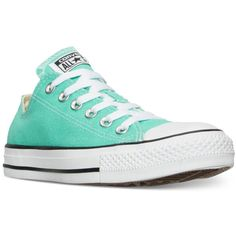 d38968ffc079 Converse Women s Chuck Taylor Ox Casual Sneakers from Finish Line ( 55) ❤  liked on