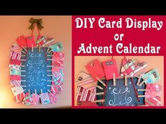 YouTube Advent Calenders, Diy Advent Calendar, The Frugal Crafter, Card Making Tutorials, Diy Cards, Coupon Codes, Tapestry, Stamp, Display