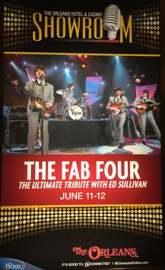 BEATLES TRIBUTE...THE FAB FOUR @ ORLEANS
