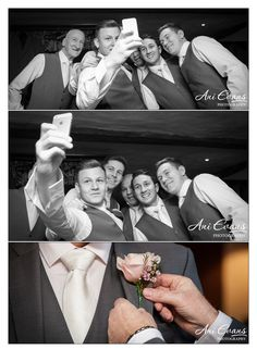 Notley Tythe Wedding Photography Groom preparations