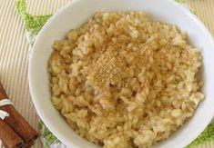 Fitrecepty   Snídaně - Ovesná kaše přes noc Muesli, Risotto, Oatmeal, Grains, Baking, Breakfast, Ethnic Recipes, Desserts, Být Fit