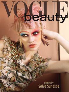 Maquiagem Artística: capa da Vogue Itálica Beleza | Artistic makeup: Vogue Italy Beauty cover
