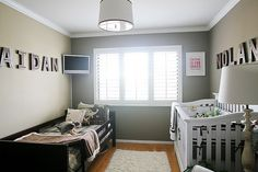 like the names as the main decor in the room. Nolan's Nursery-011