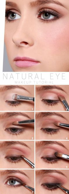 How to Do Natural Eyes | Work Makeup Tips by Makeup Tutorials