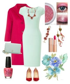 """""""Spring 101"""" by klm62 ❤ liked on Polyvore featuring Gucci, Roland Mouret, Christian Louboutin, Tory Burch, Charlotte Tilbury, Oscar de la Renta and OPI"""