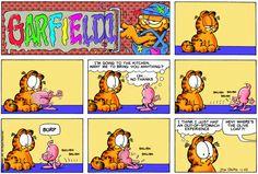 Garfield | Daily Comic Strip on November 22nd, 1998