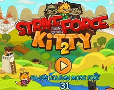 Strikeforce kitty is back evil foxes have attacked again we ve sent