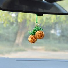 Car charm Rear view mirror charm car accessories Handmade