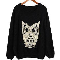 3 Farbe Modisch Damen Frauen Bat Print Sweatshirt Mädchen Langarm Scharfe Lose Jumper Fashion Season, http://www.amazon.de/dp/B00FTZXWPG/ref=cm_sw_r_pi_dp_miUJtb0S03X8Q