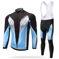 XINTOWN Spain Men Cycling Jerseys Padded Bibs Set Long Sleeve Bike Clothing Long Sleeve MTB Shirts Bib Pants Trousers Reflective. Yesterday's price: US $93.14 (77.10 EUR). Today's price: US $48.43 (39.90 EUR). Discount: 48%.