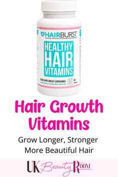 Are you looking for hair care vitamin supplements to include in your routine? If you want faster hair growth, these vitamins which contain biotin are the perfect treatment.  They will also improve the condition of dry, damaged hair & split ends. Suitable for fine, thin curly or African American hair as well as frizzy hair. Fast tips, overnight products, coconut oil, instantly, at home, naturally, how to tame, short, thick, how to style wavy, dry, #ad #hair #hair  *Affiliate link*