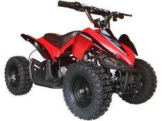 24v Mini Quad v2 By MotoTec | Red