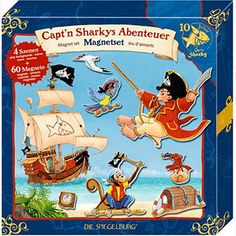 Μαγνητικό Επιτραπέζιο Παιχνίδι «Sharky»