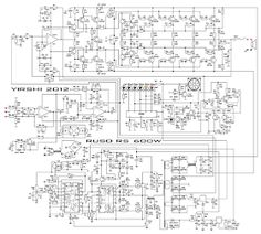 10000 Watts Power Amplifier Schematic Diagram (With images