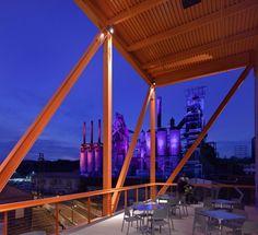 Bustler: Spillman Farmer Architects Receive AIA Pennsylvania Award for ArtsQuest Center at SteelStacks