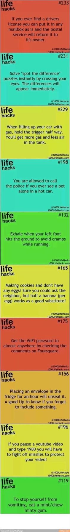 Life hacks by ellen