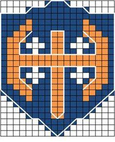 Tappara on terästä - tai vaikka villaa Knitting Charts, Knitting Socks, Knitting Patterns Free, Knit Patterns, Free Knitting, Logo Branding, Logos, Fair Isle Pattern, Mittens Pattern