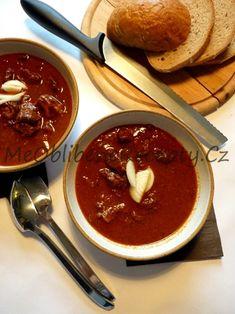 Kančí guláš Feta, Chili, Soup, Chile, Soups, Chilis