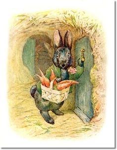Beatrix Potter character Little Black Rabbit
