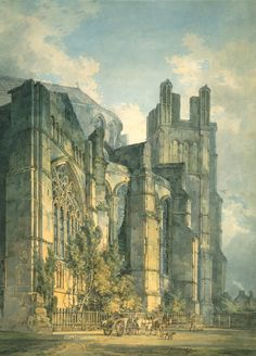 Joseph Mallord William Turner   St Anselm's Chapel, Canterbury Cathedral, with Part of Thomas-a-Becket's Crown, 1794