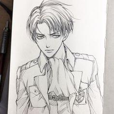 #anime #SNK #ANIME BOY #Art #Levi