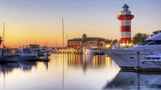 Harbour Town, Hilton Head, South Carolina