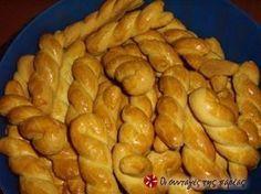 Greek Sweets, Greek Desserts, Greek Recipes, Sweets Recipes, Easter Recipes, Wine Recipes, Cooking Recipes, Greek Cookies, Greek Pastries